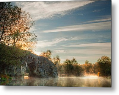 Hole In The Rock Metal Print by Evgeni Dinev