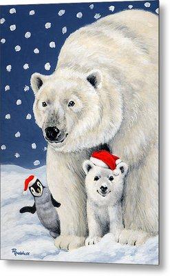 Holiday Greetings Metal Print by Richard De Wolfe