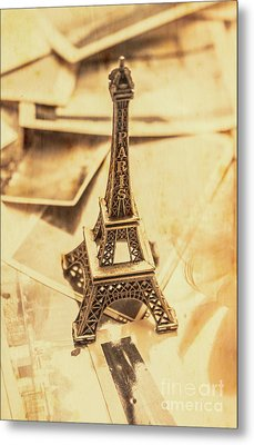 Holiday Nostalgia In Vintage France Metal Print by Jorgo Photography - Wall Art Gallery
