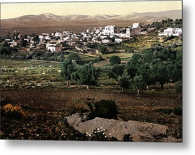 Holy Land - Jenin Metal Print by Munir Alawi