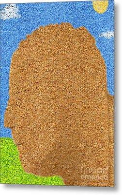 Homage To Seurat In Carpet Metal Print by Andy  Mercer