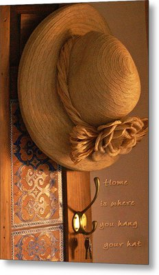 Home Is Where Metal Print by Holly Kempe