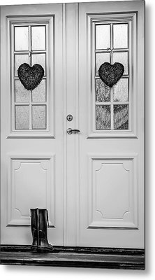 Home Is Where The Heart Is Metal Print by Maggie Terlecki