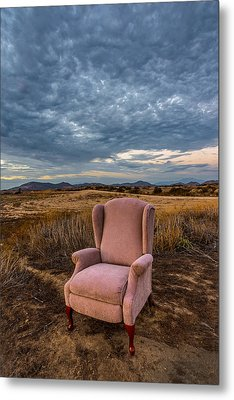 Home On The Range Metal Print by Peter Tellone