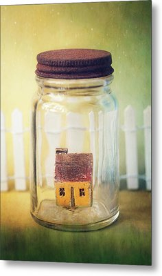 Home Sweet Home Metal Print by Amy Weiss
