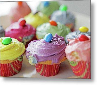 Homemade Cupcakes Metal Print by Richard Newstead