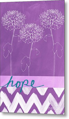 Hope Metal Print by Linda Woods