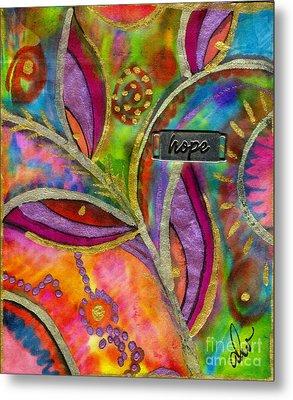 Hope Springs Anew Metal Print by Angela L Walker