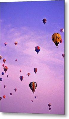 Hot Air Balloon - 13 Metal Print by Randy Muir