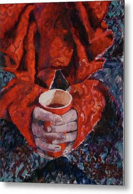 Hot Chocolate Metal Print by Elisabeth De Vries