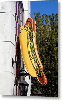 Hot Dogs Metal Print by Art Block Collections