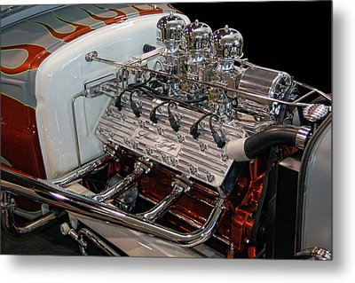 Hot Rod Lincoln Metal Print by Bill Dutting