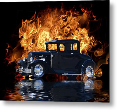 Hot Rod Metal Print by Patricia Stalter