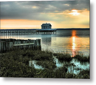 House At The End Of The Pier II Metal Print by Steven Ainsworth