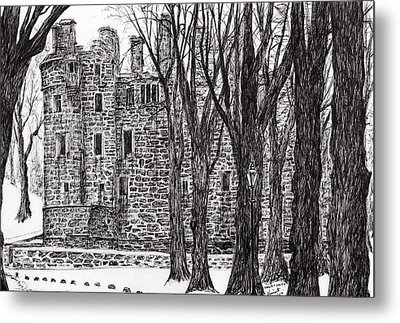 Huntly Castle Metal Print by Vincent Alexander Booth