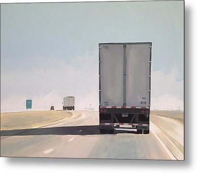 I-55 North 9am Metal Print by Jeffrey Bess