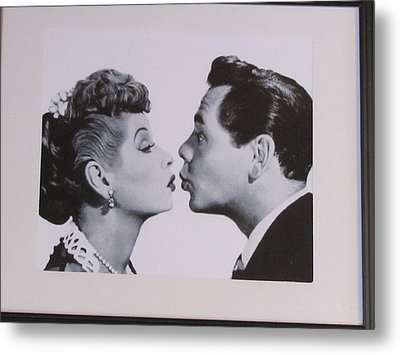 I Love Lucy Metal Print by Shawn Hughes