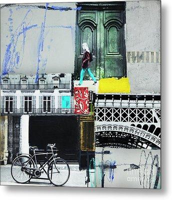 I Love Paris Metal Print by Elena Nosyreva