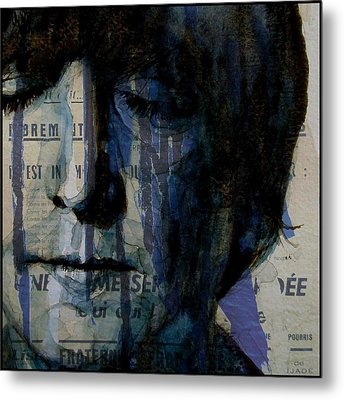 I Read The News Today Oh Boy  Metal Print by Paul Lovering