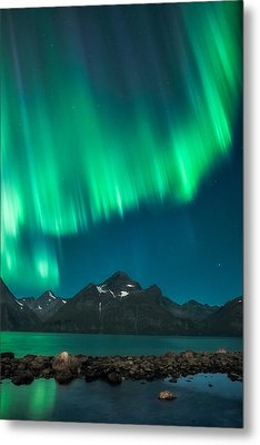 I See Fire Metal Print by Tor-Ivar Naess