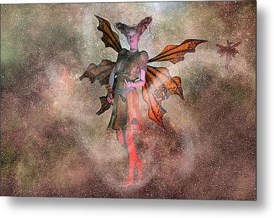 I See Your Fairy Dust And Raise You This Metal Print by Betsy C Knapp