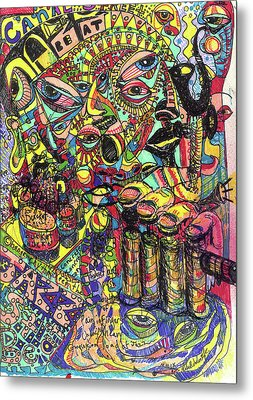 I Want To Be In That Number Metal Print by Robert Wolverton Jr