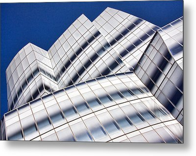 Iac Building Metal Print by June Marie Sobrito