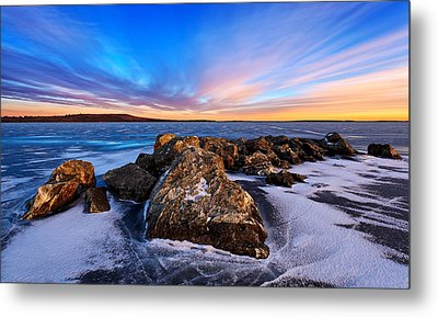 Icebound 2 Metal Print by Bill Caldwell -        ABeautifulSky Photography
