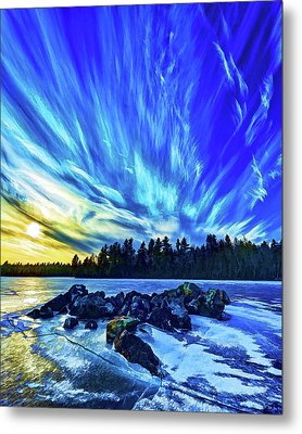 Icebound 3 Metal Print by Bill Caldwell -        ABeautifulSky Photography