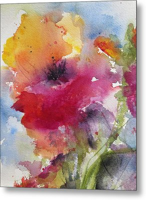 Iceland Poppy Metal Print by Anne Duke