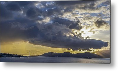 Icons Of The Bay Metal Print by Sean Foster