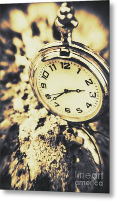 Illusive Time Metal Print by Jorgo Photography - Wall Art Gallery