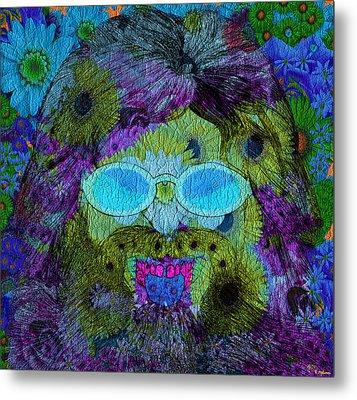 Im A Hippie Man Metal Print by Robert Matson
