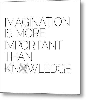 Imagination Metal Print by Melanie Viola