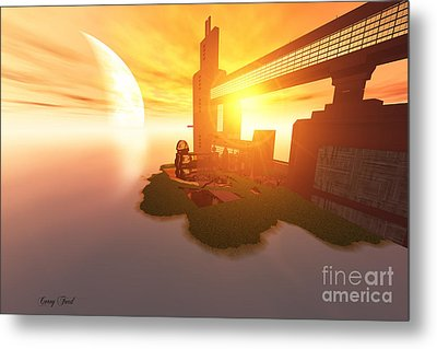 Imagine Metal Print by Corey Ford