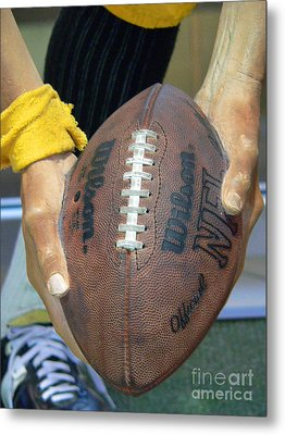 Immaculate Reception Metal Print by David Bearden