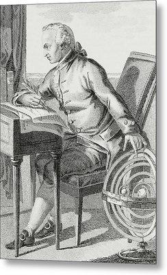 Immanuel Kant Metal Print by German School
