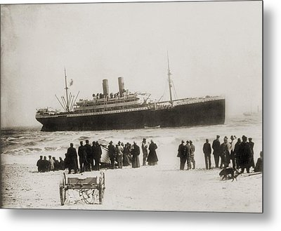 Immigrant Ship From Italy, The Princess Metal Print by Everett