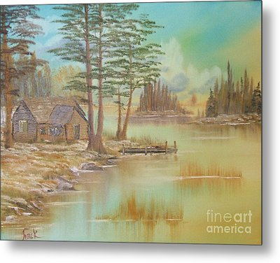 Impressions In Oil - 18 Metal Print by Bill Turck