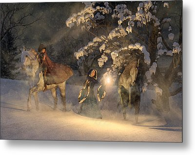 In A Land Far Far Away Metal Print by Betsy C Knapp