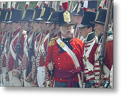 In Command Metal Print by JT Lewis