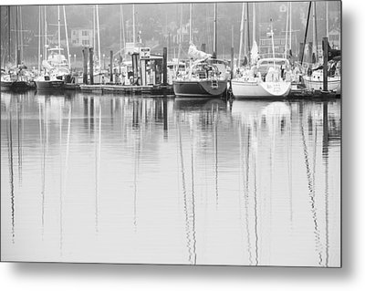 In Dock Metal Print by Karol Livote