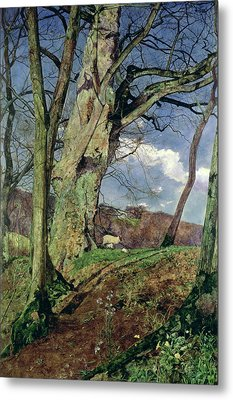 In Early Spring Metal Print by John William Inchbold