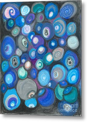 In Front Of The 8 Ball Metal Print by Ania M Milo