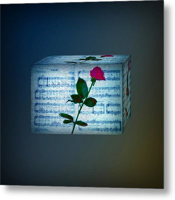 In My Life Cubed Metal Print by Bill Cannon