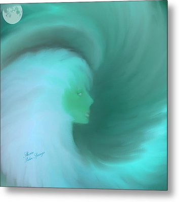 In The Arms Of An Angel Metal Print by Sherri  Of Palm Springs