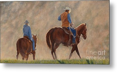 In The Dust Metal Print by Danielle Smith