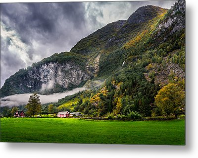 In The Valley Metal Print by Dmytro Korol