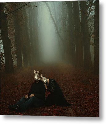In Your Dream Metal Print by Joanna Jankowska