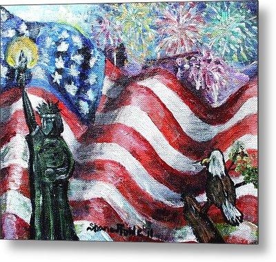 Independence Day Metal Print by Shana Rowe Jackson